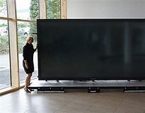 Image result for largest tv screen. Size: 205 x 160. Source: sneakhype.com