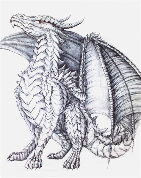 mythical dragons coloring pages the proud one by almieliandri on deviantart dragon fantasy
