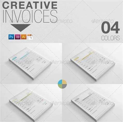 creative invoice template creative graphic design invoice studio design