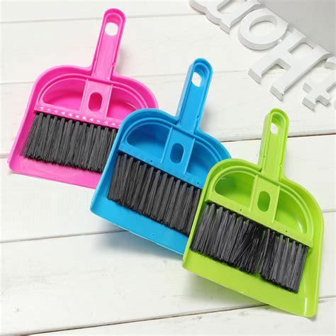 Mini Broom And Dustpan Set mini portable plastic dustpan brush set soft cleaning