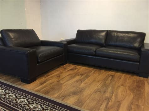Room And Board Leather Sofa Sold Room Board Leather Sofa Chair Modern To Vintage
