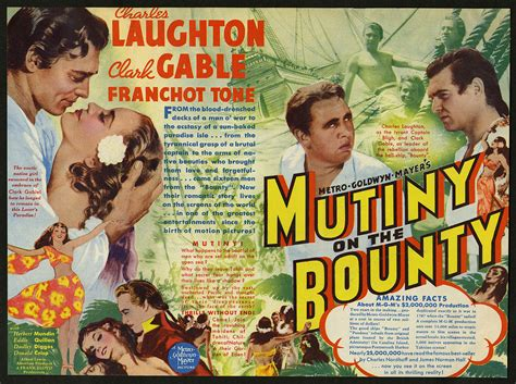 where is the bounty mutiny on the bounty 1935