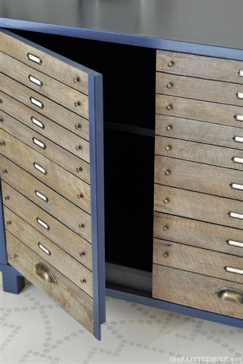 peel and stick laminate cabinets easy diy faux multi drawer cabinet hack peel and
