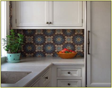 moroccan tile kitchen backsplash moroccan tile backsplash kitchen home design ideas