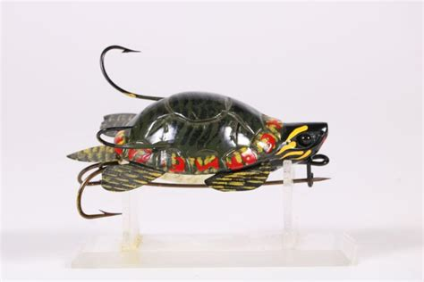 Turtle Fishing Lure carl christiansen newberry mi 3 75 quot turtle fishing lure w