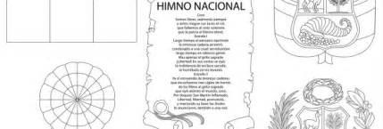 dibujos alusivos para colorear de los simbolos patrios peru imagenes de los simbolos patrios de bolivia para colorear