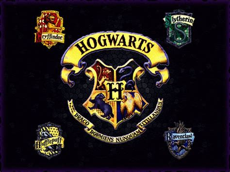 Houses Of Hogwarts by Hogwarts Alumni Hogwarts Houses Logo