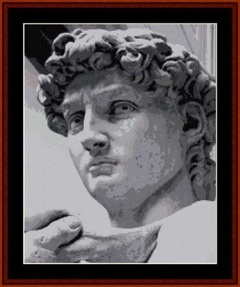 tribute to fine arts michelangelo 101 best renaissance cross stitch patterns by cross stitch