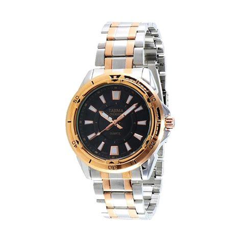 Jam Tangan Pria Tajima jual tajima analog jam tangan pria hitam 3017 grt a02