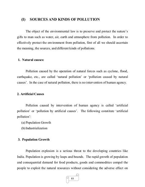 environmental dissertation topics dissertation environment