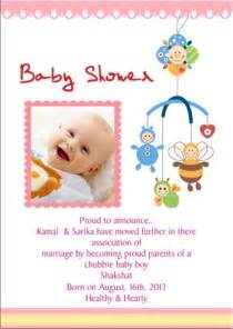 baby shower cards india printable baby shower invitation