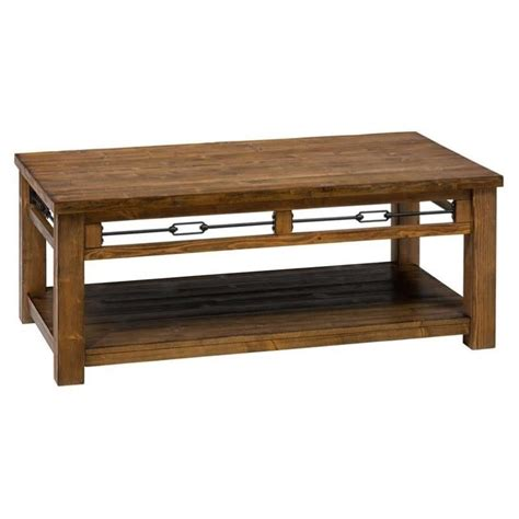 Rectangle Wood Coffee Table by Jofran San Marcos Wood Rectangle Coffee Table In Pine 463 1
