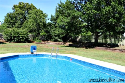 Backyard Pool Updates Backyard Update Part 3 A Garden Hop Uncookie Cutter