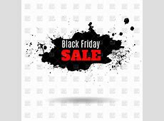 Black friday sale banner Vector Image of Design elements ... Free Holiday Clipart And Borders