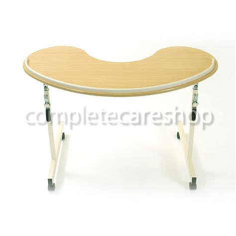kidney shaped table kidney shaped overbed table beds bedding overbed