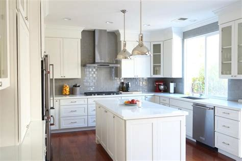 white kitchen glass cabinets kitchen design ideas remodel projects photos