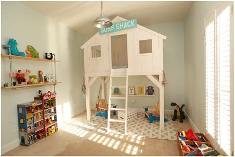 clubhouse bed 10 amazing diy loft bed designs for your kids room interior design blogs
