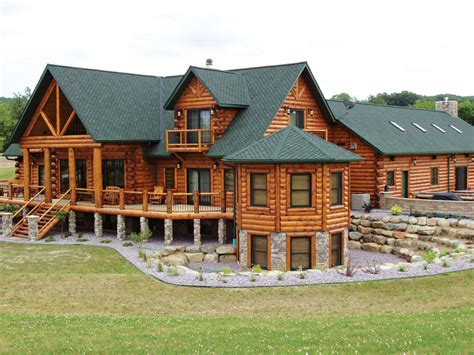 log home construction maintenance improvements