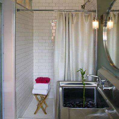 walk in shower with shower curtain walk in shower w curtain bathroom pinterest