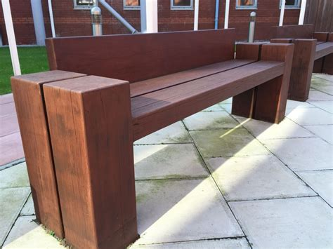 railway sleeper bench liverpool railway sleeper seats benches