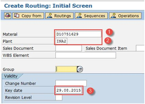 Sap Routing Tutorial | how to create change display routing in sap pp