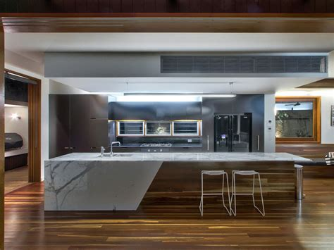 modern galley kitchen designs modern galley kitchen design using floorboards kitchen