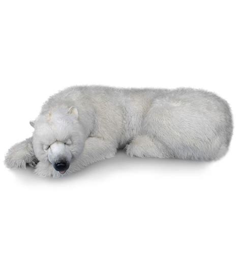animal dormeur peluches anima peluche ours polaire g 233 ant dormeur 200 cm