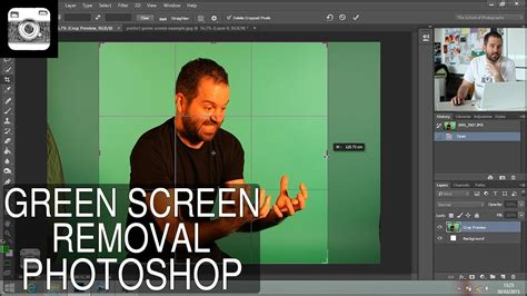 photoshop cs3 green screen tutorial green screen removal in photoshop youtube
