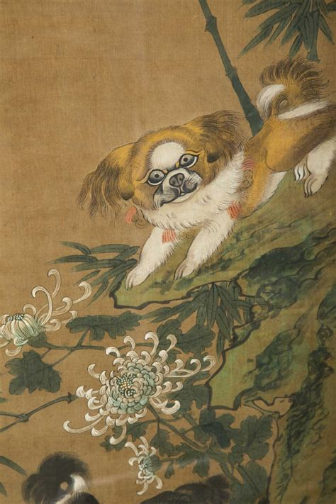 shih tzu china shih tzu dogs painting