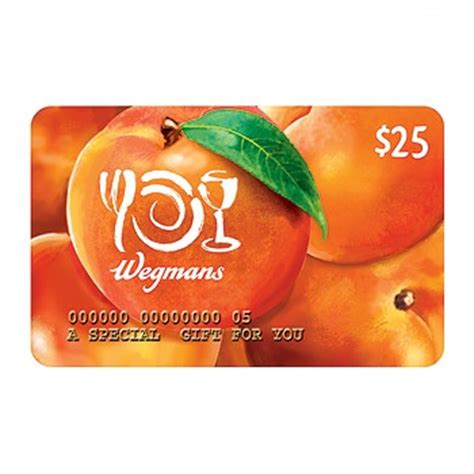 wegmans gift cards any amount - Wegmans Gift Cards
