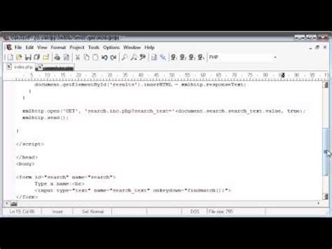 tutorial php application beginner php tutorial 177 auto suggest application
