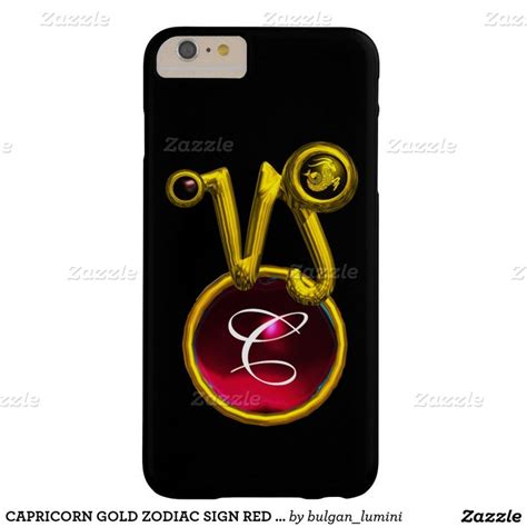 Garskin Apple Iphone 5s Capricorn capricorn gold zodiac sign ruby monogram barely there
