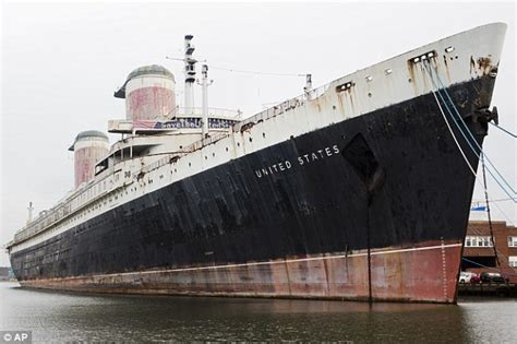 how much is the biggest boat in the world ss united states undergoing massive renovation to save the