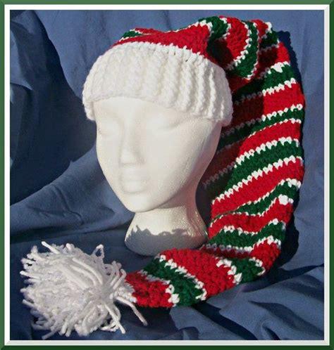 pattern stocking cap crochet pattern long tail stocking cap pdf pattern by
