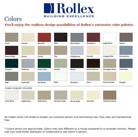 steel siding colors rollex soffit accessories square deal