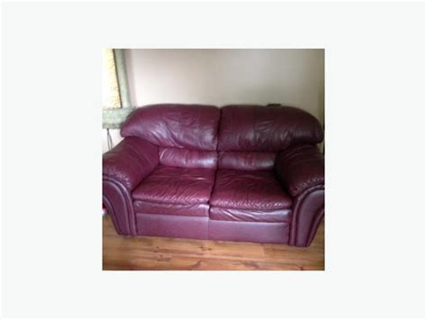 Burgundy Leather Sofa And Loveseat burgundy leather sofa and loveseat kanata ottawa