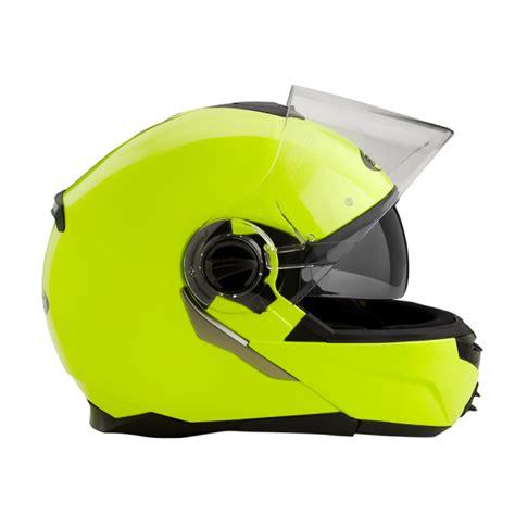 Motorrad Helm Neon by Rocc 680 Neon Gelb Klapphelm Helm Bekleidung Helme