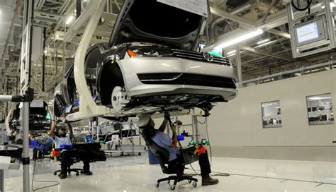 Audi Plant In Usa Volkswagen Bets On Passat Built In Tennessee The New