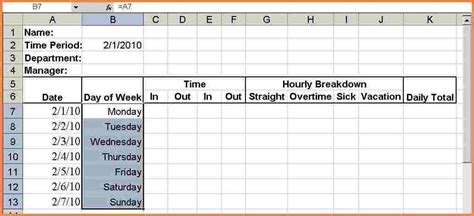 10 overtime tracking spreadsheet excel spreadsheets group