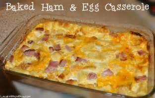 baked ham and egg casserole recipe