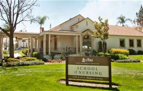 California Baptist Mba Program by California Baptist School Of Nursing