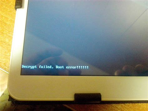 samsung tab boot menu q d101 tablet quot decrypt failed boot e android development and hacking
