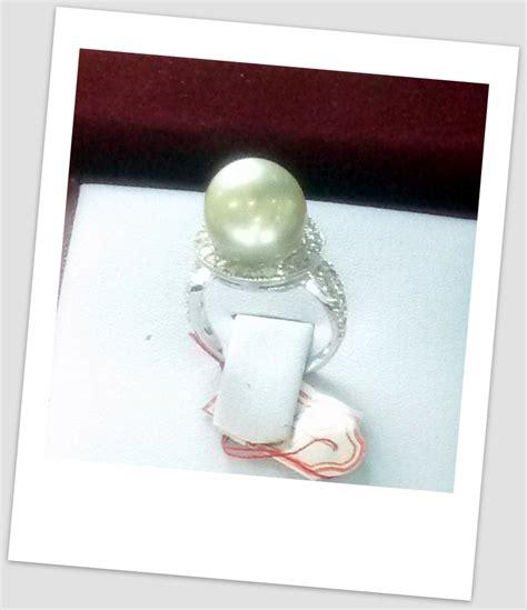 Promo Cincin Mutiara Lombok Air Tawar Khas Sekarbela 1 cincin mutiara emas 0087 harga mutiara lombok perhiasan