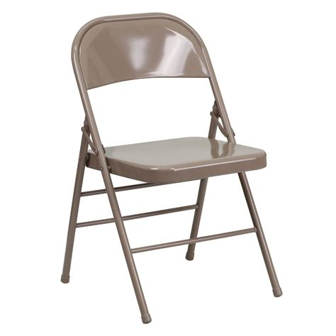 trident furniture steel commercial folding chair
