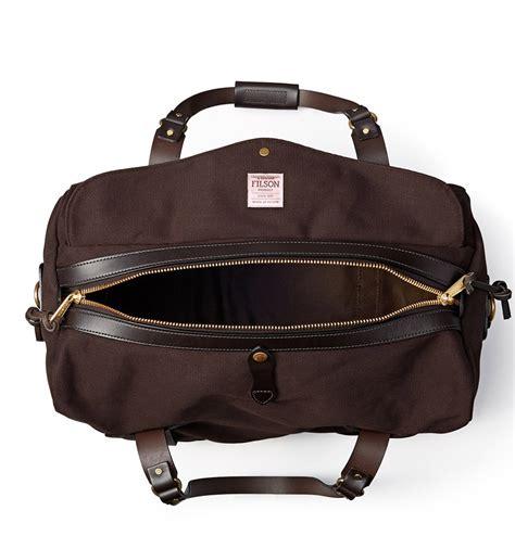 filson duffle medium  brown perfect travelbag