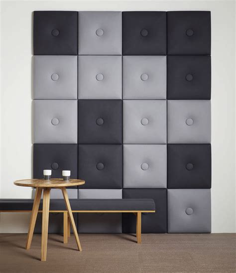 modern upholstered fabric wall panels with gray wall upholstered wall panels with tufted buttons with cool gray