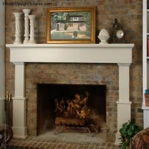 modern wood fireplace mantels housedesignpictures