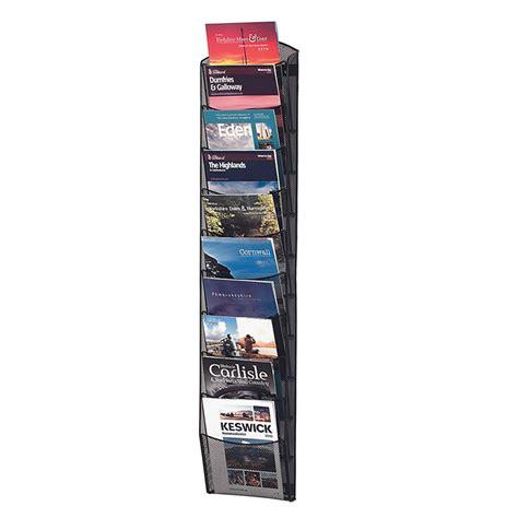 Mesh Literature Rack by Mesh Literature Display Racks Csi Products