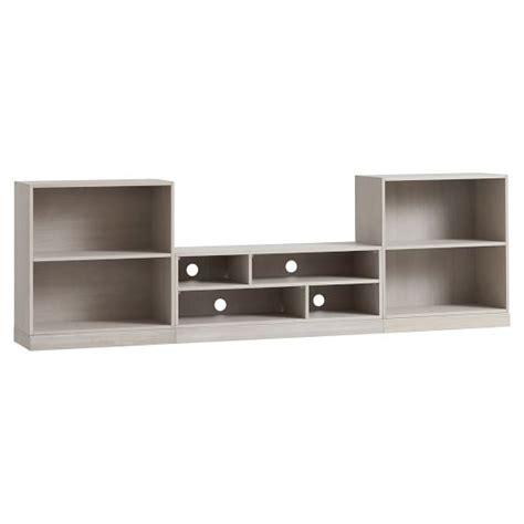 stack me up bookcase stack me up media bookcase set pbteen
