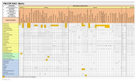 21 free raci chart templates template lab